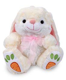 Starwalk Plush Rabbit With Ribbon Pink - 24 cm