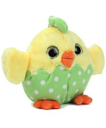 Starwalk Chicken Plush Soft Toy Yellow And Green - 49 cm
