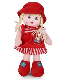 Starwalk Rag Candy Doll Red - 12 Inches