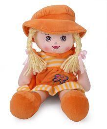 Starwalk Rag Candy Doll Orange - 12 Inches