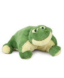Starwalk Plush Frog Cushion Green - 18 Inches