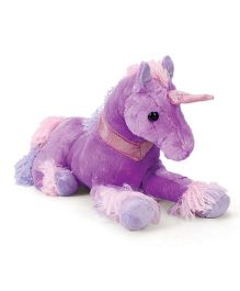 Starwalk Unicorn Soft Toy Purple - 31 cm