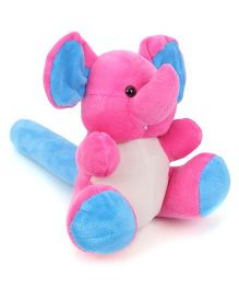 Starwalk Plush Elephant Musical Hammer Blue And Pink - 9 Inches