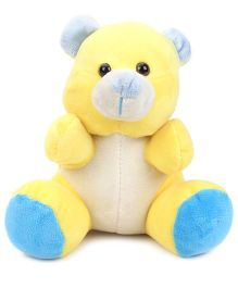 Starwalk Plush Bear Musical Hammer Yellow And Blue - 9 Inches