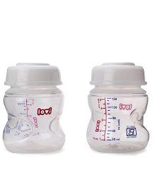 Lovi Breast Milk Storage Containers Pack Of 2 - 150 ml