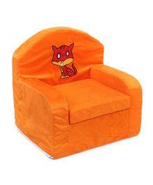 Luvely Kids Chair Cat Design - Orange