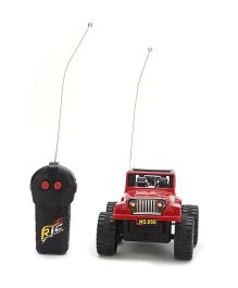Classic RC 2 Function Hummer Jeep - Red