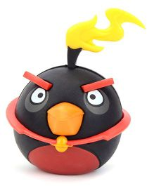 Angry Bird Space Fire Bomb Bird Red Black - 28 Pieces