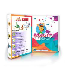 Flash Cards Magic Cardz - A to Z learning for Toddlers By Augment Works
