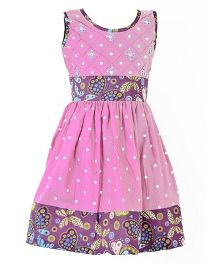Marshmallow Butterfly Print Dress - Pink