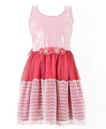 Marshmallow Elegant Party Dress - Pink