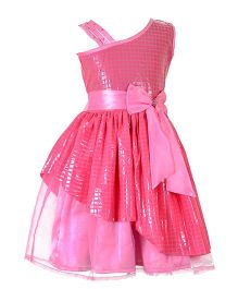 Marshmallow Party Wear Dress - Pink