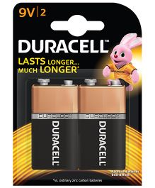 Duracell Alkaline 9 V Batteries - Pack Of 2