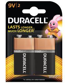 Duracell Alkaline 9 V Batteries - Pack Of 2