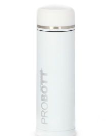 Probott Insulated Sports Bottle White - 450 ml
