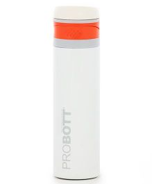 Probott Insulated Sports Bottle White - 500 ml