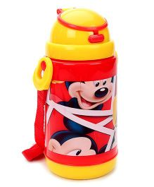 Disney Mickey Mouse Push Button Sipper Bottle - 320 ml