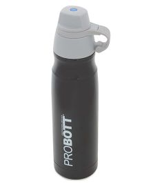 Probott Double Wall Insulated Sports Bottle Black - 500 ml
