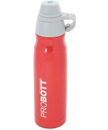 Probott Stainless Steel Double Wall Insulated Sports Bottle Red - 500 ml
