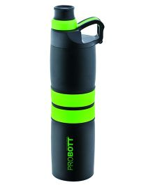 Probott Sports Bottle Green And Black - 600 ml