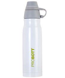 Probott Insulated Sport Bottle White - 800 ml