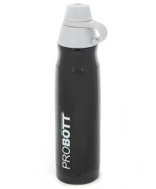 Probott Stainless Steel Insulated Sport Bottle Black - 800 ml