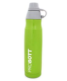 Probott Stainless Steel Insulated Sport Bottle Green - 800 ml