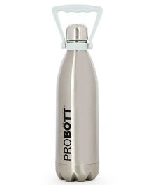 Probott Insulated Sports Bottle Silver - 1000 ml