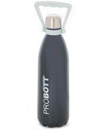 Probott Insulated Sports Bottle Black - 1000 ml