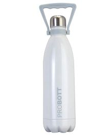 Probott Insulated Sports Bottle White - 1000 ml