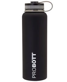 Probott Insulated Sport Bottle Black - 1200 ml