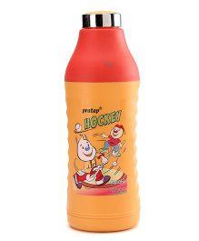 Pratap Hy Cool Insulated Medium Water Bottle Yellow - 580 ml