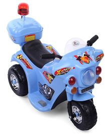 Sunbaby Super Cop Rideon Bike - Blue