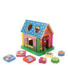 Disney My Friends Tigger & Pooh Wooden House - Multicolor