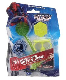 Majorette Spiderman Web Attack Battle Game - Multicolor