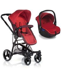 BeCool Bandit & Zero Car Seat Travel System - Lava