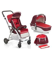 BeCool Vision And Cocoon Carrycot Travel System - Amour