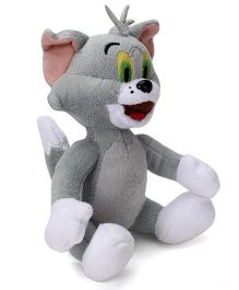 Tom and Jerry Soft Toy Tom Grey - 8 inch
