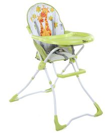 Toyhouse High Chair With Tray - Light Green