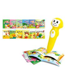 Toyhouse Interactive Reading Pen With 12 Books - Yellow