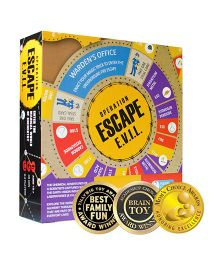 Kitki Escape E.V.I.L Board Game - Multi Color