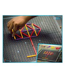 Kitki Three Sticks Maths Game - Multi Color