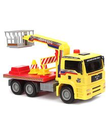 John World Pump Action Truck - Yellow