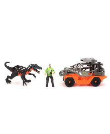 Dino Vehicle Playset - Orange