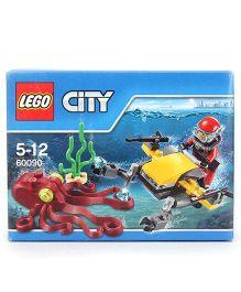 Lego Funskool Deep Sea Starter Set Multicolor - 42 Pieces