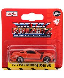 Maisto 2013 Ford Mustang Boss 302 - Red