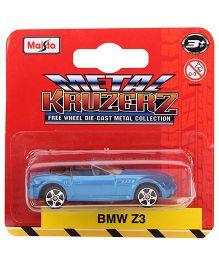 Maisto BMW Z3 Die Cast Car - Blue