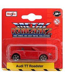 Maisto Audi Tt Roadster - Red