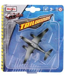 Maisto Tailwinds Die Cast Airplane Without Stand - Grey
