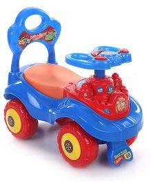 Hot Wheels Foot To Floor Ride On Car - Blue